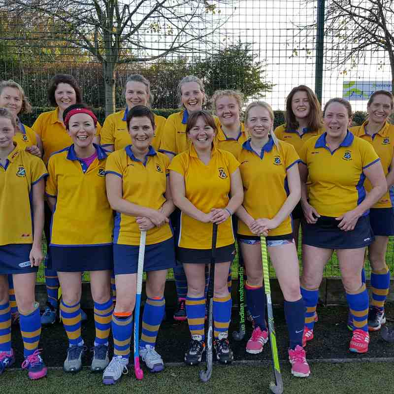 Ladies 3rd team Nov 2017.