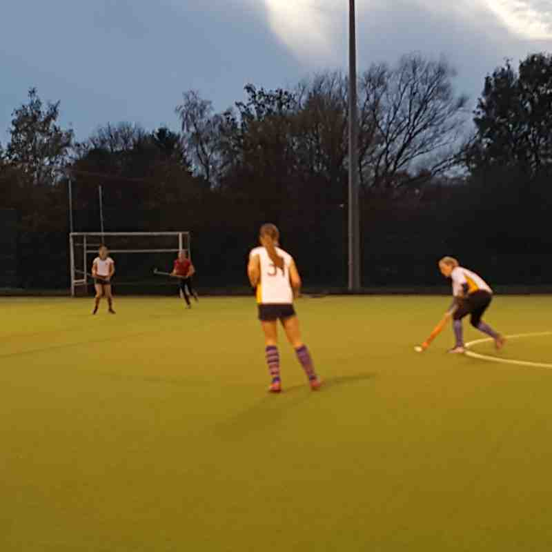 Ladies 3rds beating SCity of York.