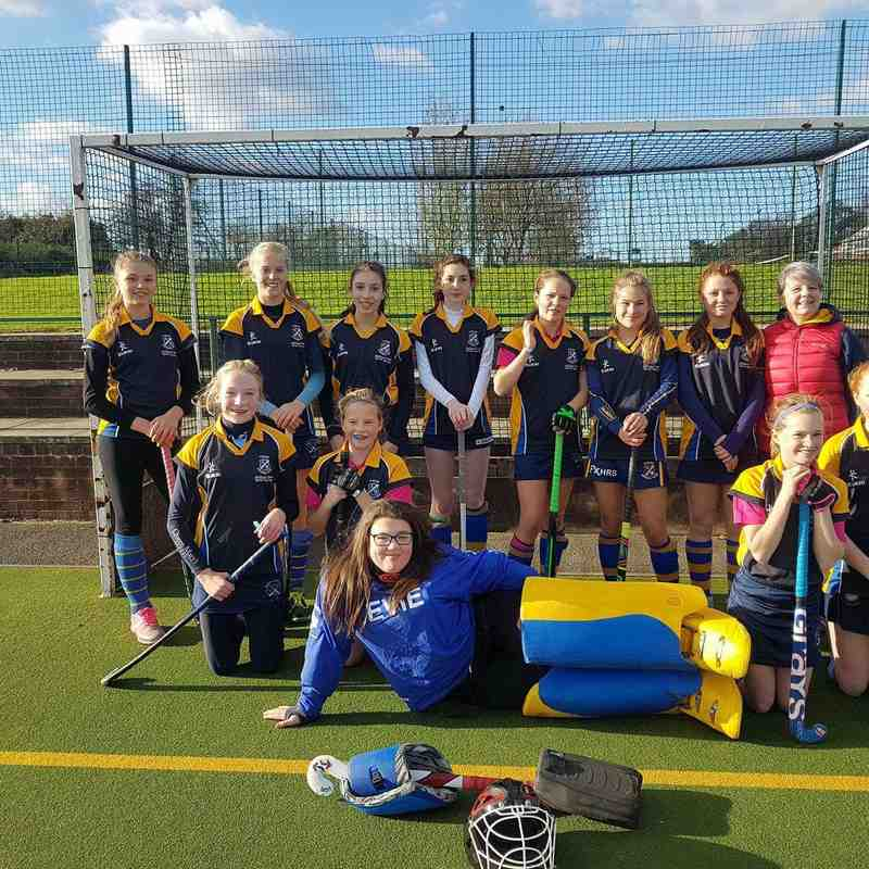 U14 Girls B team Nov 2017