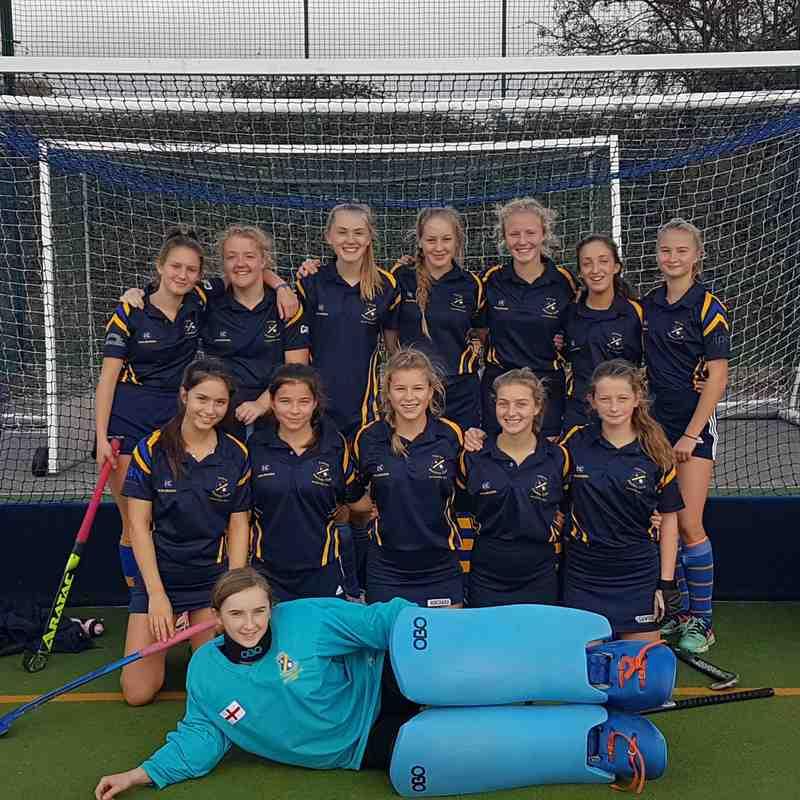 U16 A team Oct 2018