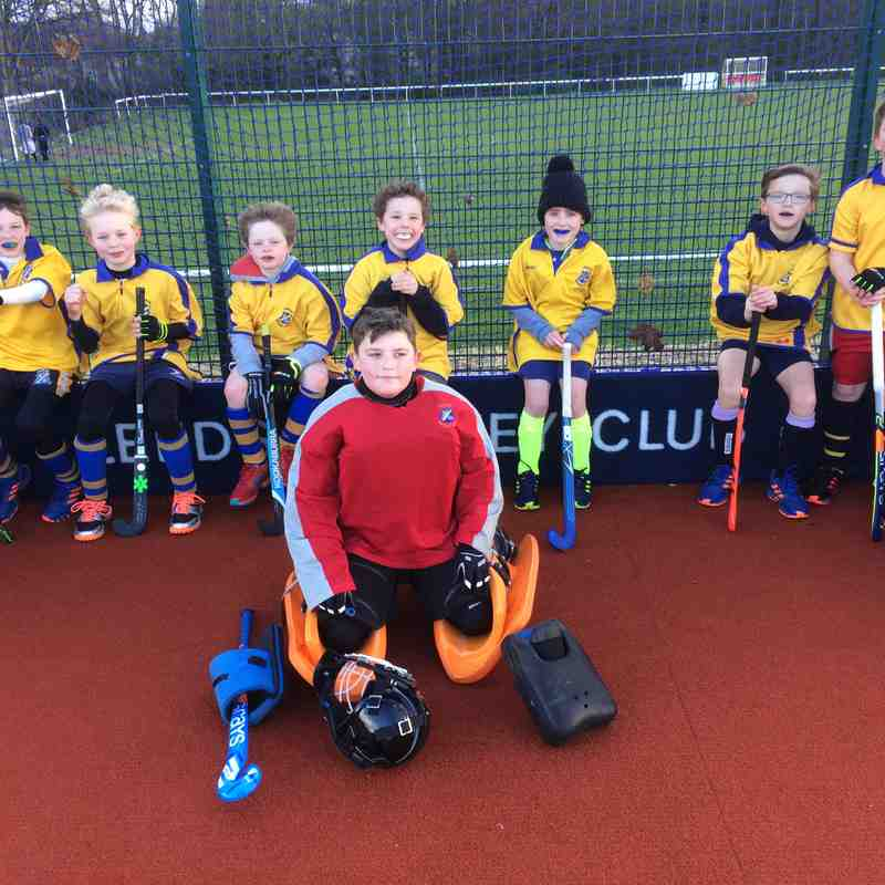 U10 Boys A team Jan 2019