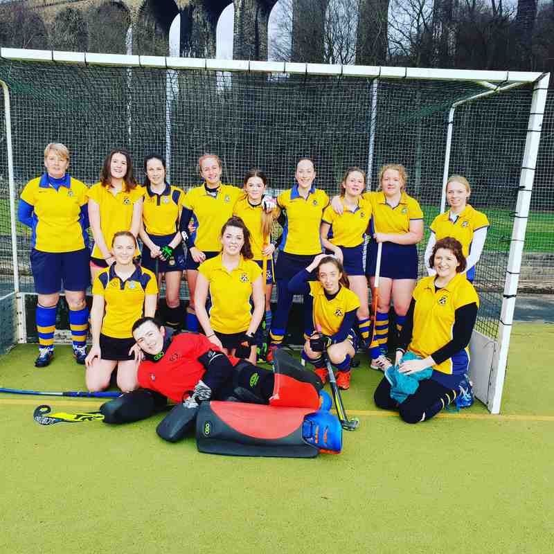 Ladies 2nds January.