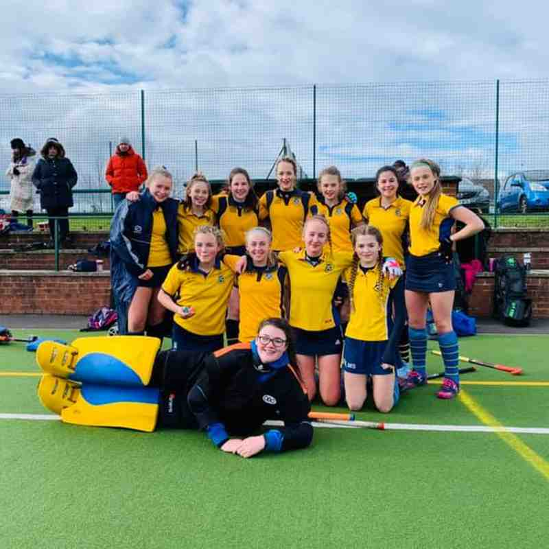 U14 Girls A team 2019