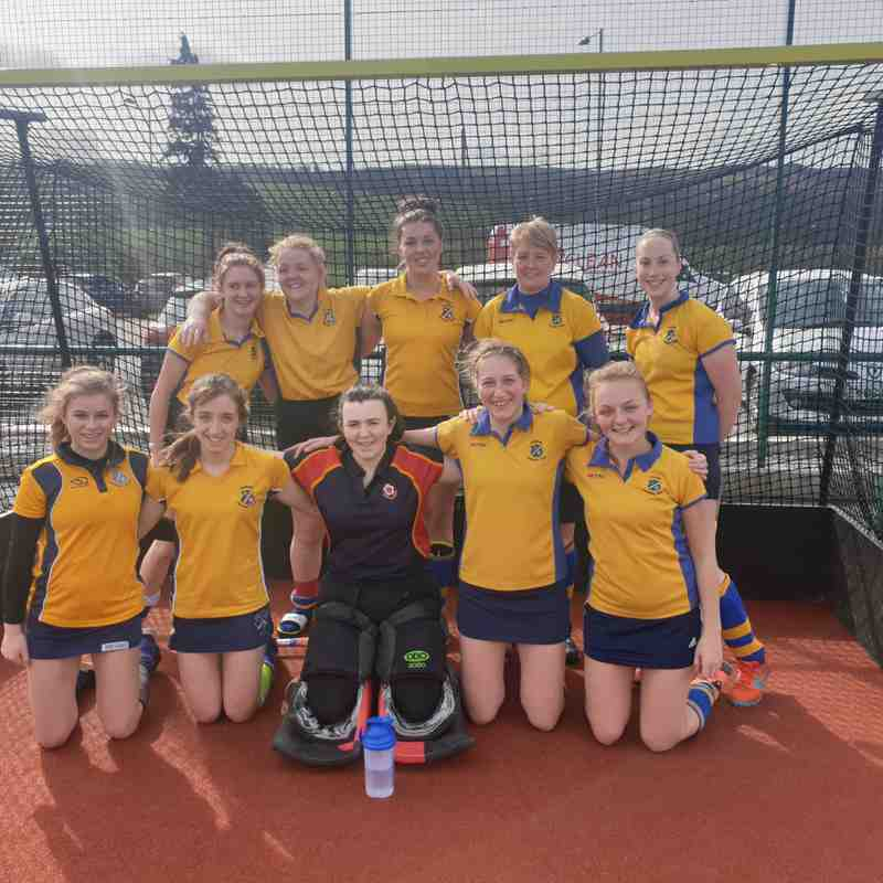 Ladies 2s Mar 2019.