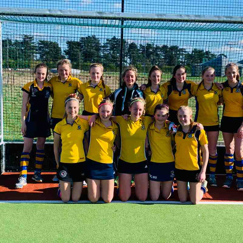U14 Girls Mar 2019.