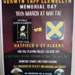 HQE2 v St Albans RFC Charity Match