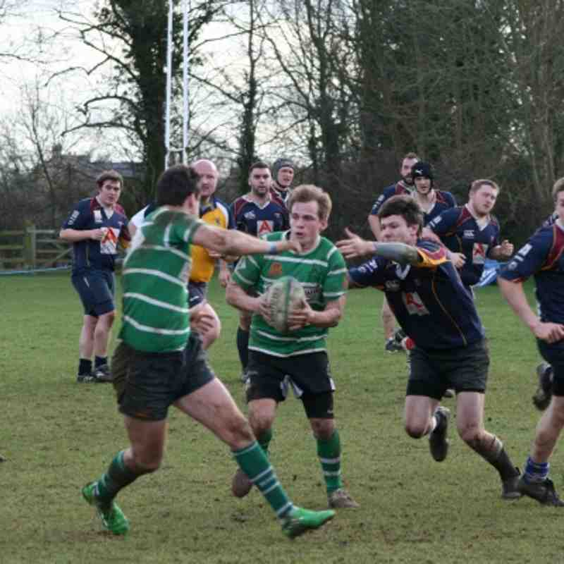 Seconds v Quins 10th March 2012