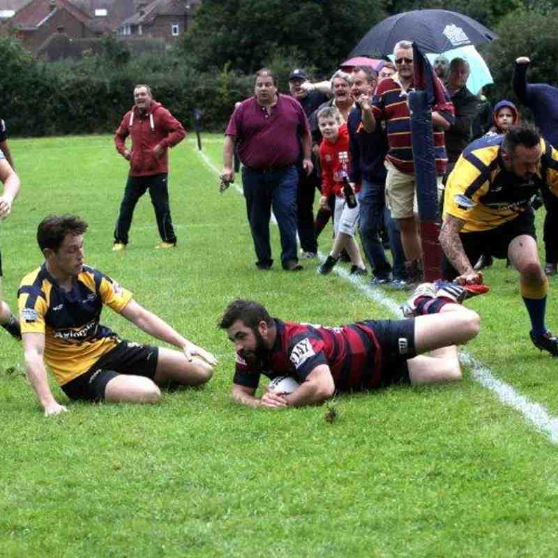 Newick Vs Holbrook 09/09/17 (by Ron Hill (HillPhotographic))