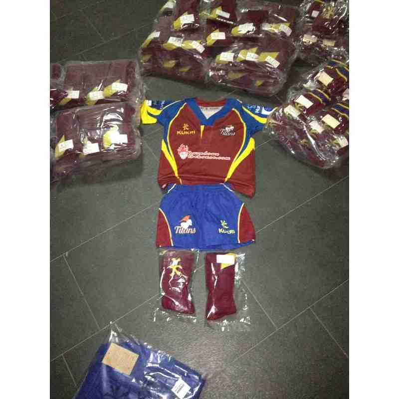 2015 Playing & Training Kit - Jerseys, Shorts, Socks