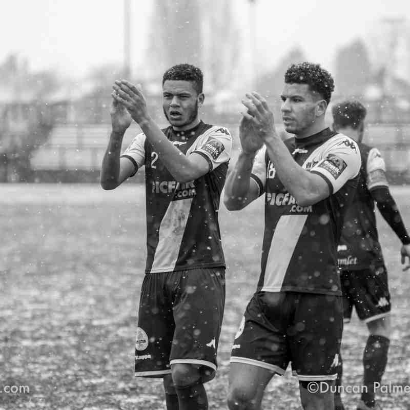 Dulwich Hamlet 3 - 0 Worthing, 18th March 2018