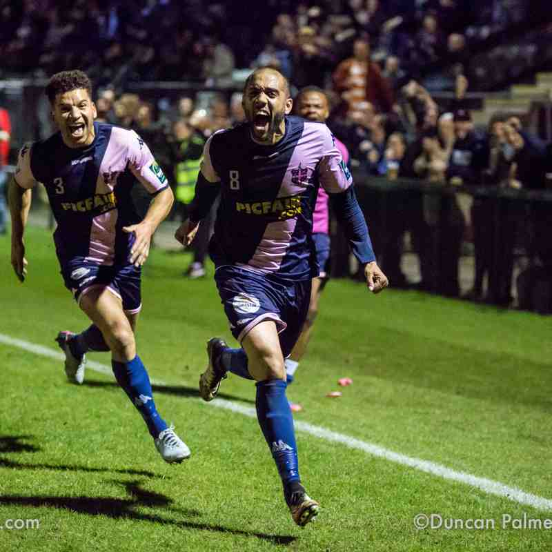 Dulwich Hamlet 1 - 0 Leiston (play-off semi-final), 3rd May 2018