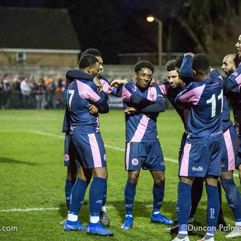 Dulwich Hamlet 2 - 1 Eastbourne Borough, 26th December 2018 (Return to Champion Hill)