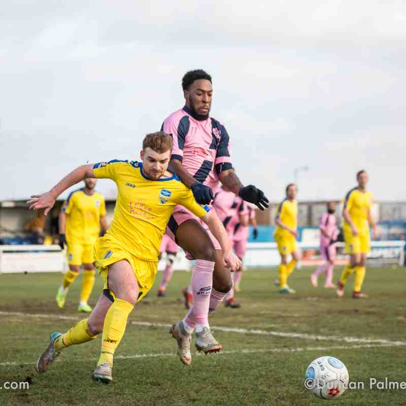 Concord Rangers 0 - 0 Dulwich Hamlet, 2nd February 2019