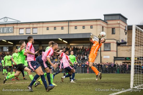 Dulwich Hamlet 3 - 3 Hemel Hempstead Town, 16th February 2019