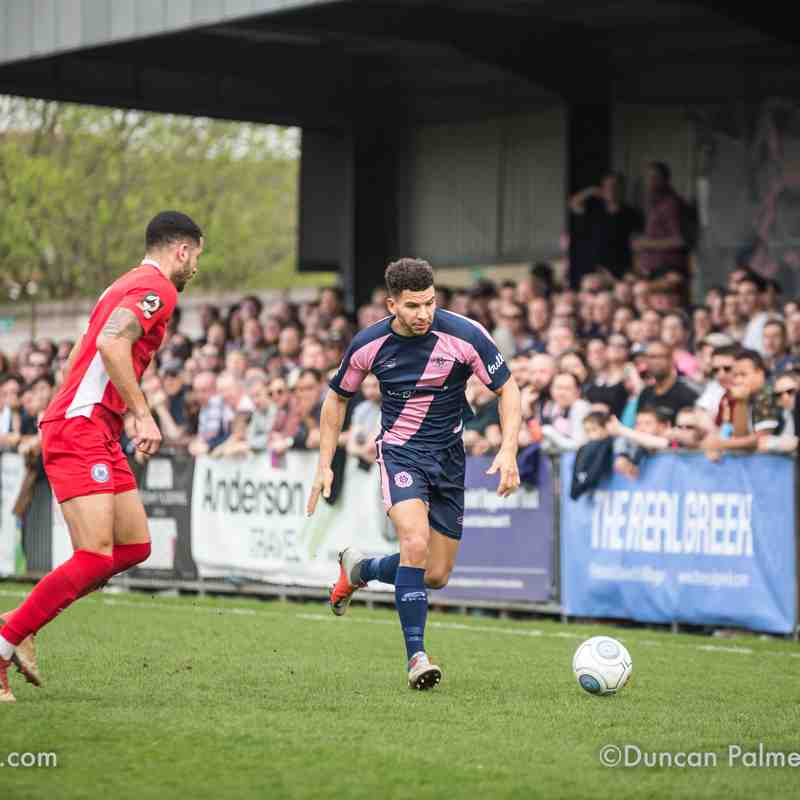 Dulwich Hamlet 2 - 2 Billericay Town, 30th March 2019