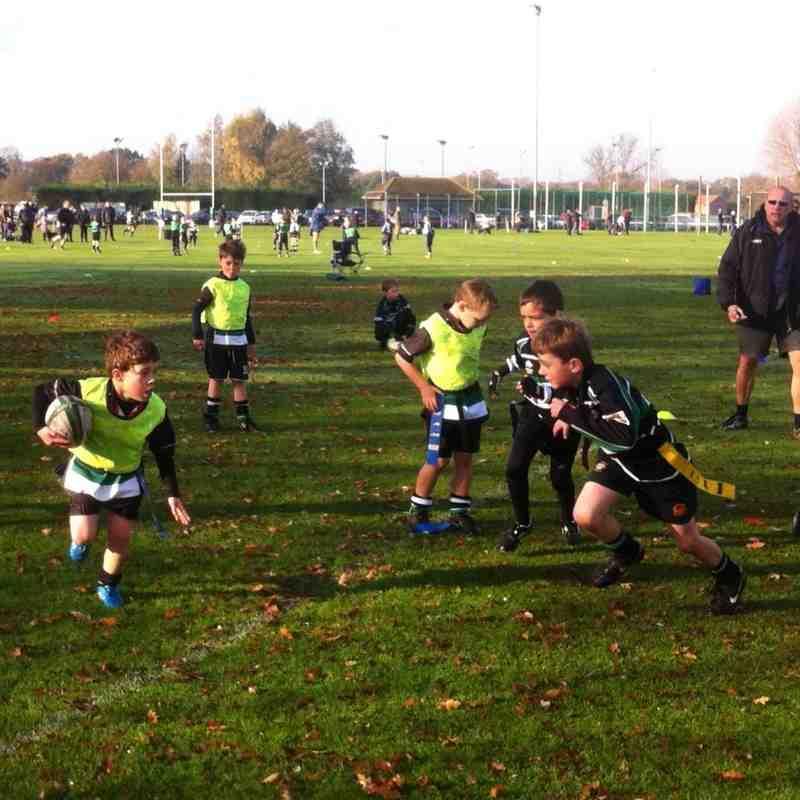 Under 7's away at York