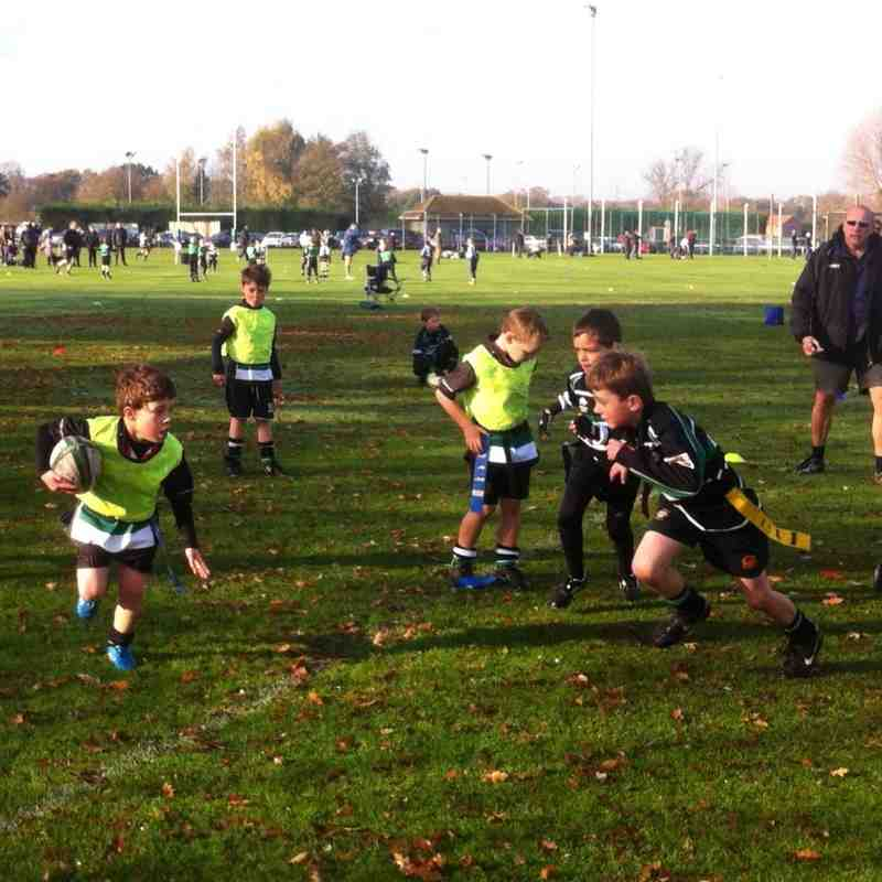 Under 7's away at York