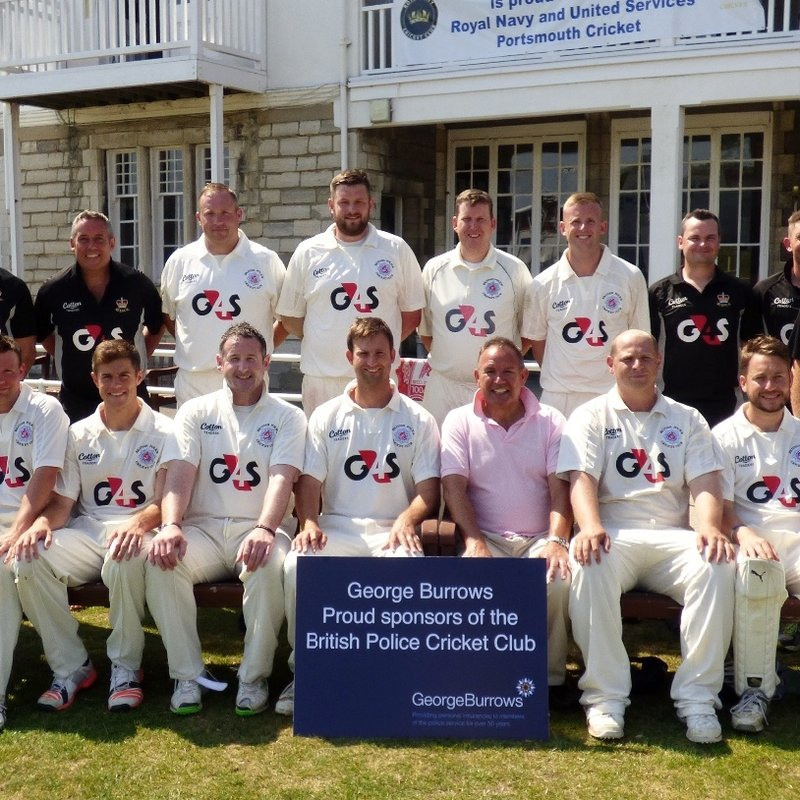BRITISH POLICE CRICKET CLUB vs. ROYAL NAVY