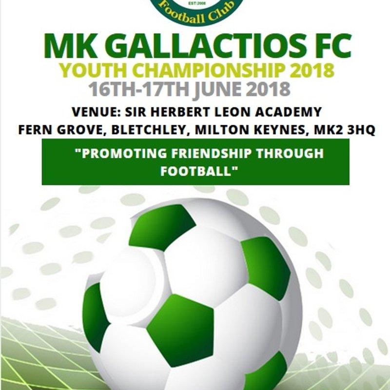 MK Gallacticos FC Youth Championship 2018