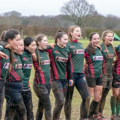 Valkyries four way training session and matches with Girls Teams from Beccles, Norwich and West Norfolk 10/2/19