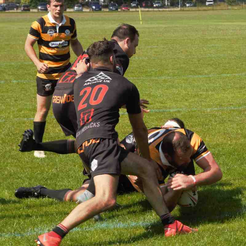 Tigers 38-38 Silverbacks (Away) 22/6/19 - Southern Conference League