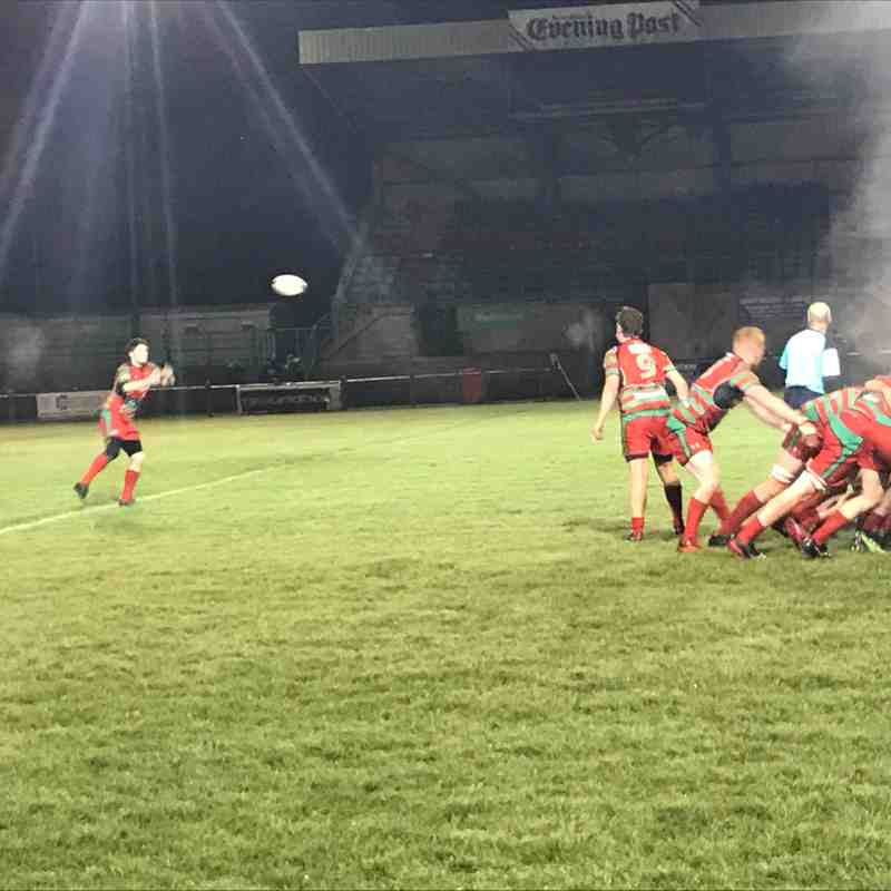 2nds Vs Swansea Ups 1st Nov 2018