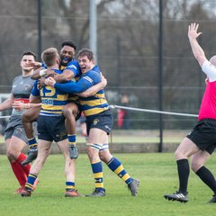 OEs 1st XV vs Plymouth Albion (H) 02 Mar 2018-19