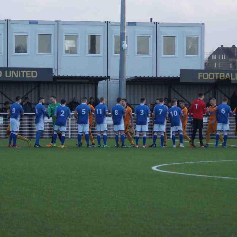Basford United v Leek Town 06/01/18