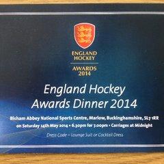 England Hockey Awards Dinner 2014