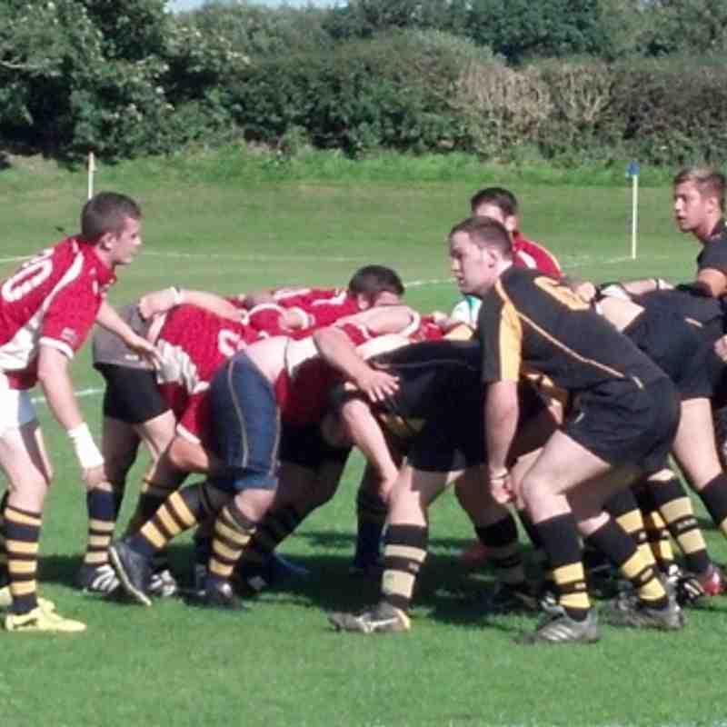 Ashbourne 2nd XV vs Derby September 8 2012