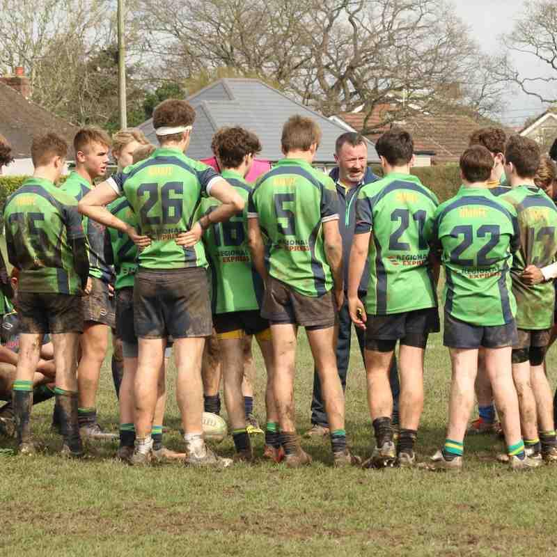 U15's win crucial league game against Petersfield 33-15