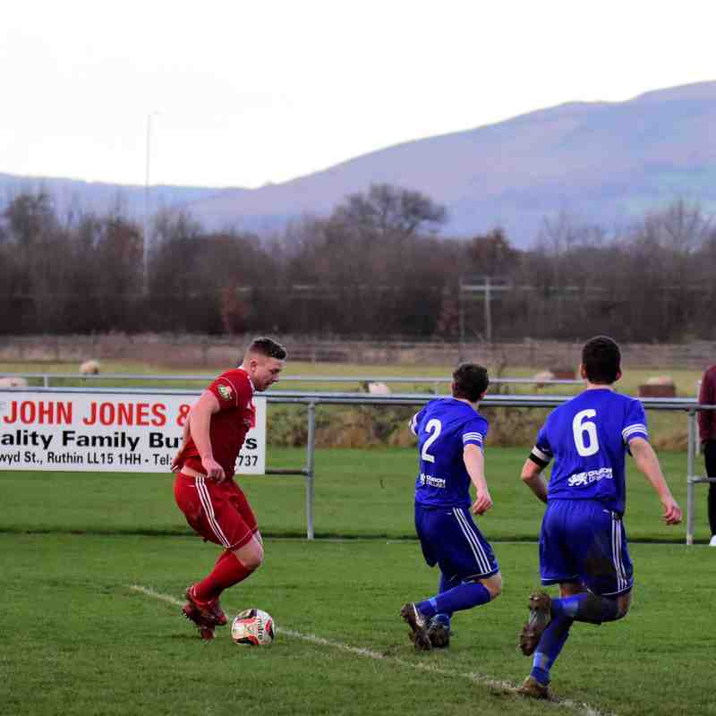 Ruthin Town v Denbigh Town 26 Dec 2017