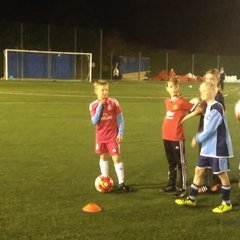 Sky and Blues half term crossbar challenege