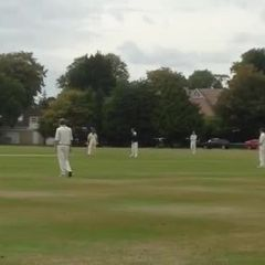 Suttoners 1st XI vs Hyde 2014