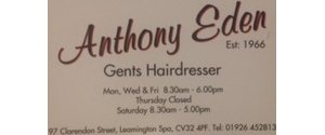 Anthony Eden Gents Hairdresser Division 1 Cup.