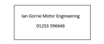 Ian Gorrie Motor Engineers
