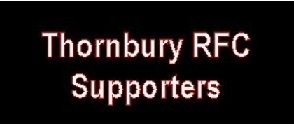Supporters of Thornbury RFC