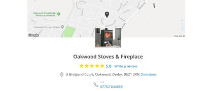 Oakwood Fireplaces and Stoves