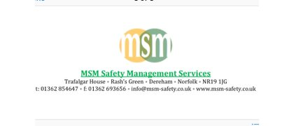 MSM Safety management services