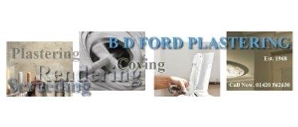 B D FORD PLASTERING