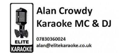 Alan Crowdy Karaoke MC & DJ