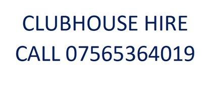 Club House Hire