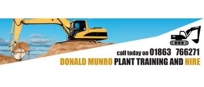 Donald Munro Plant Training & Hire