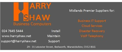 Harry Shaw Business Computers