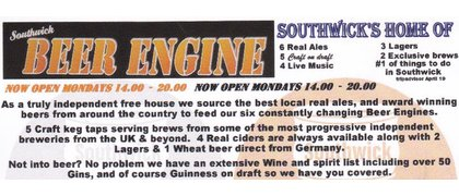Southwick Beer Engine