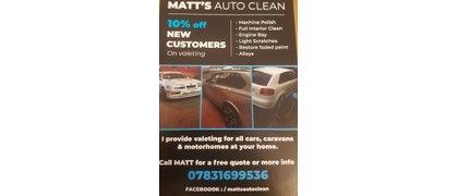 Matt's Auto Clean
