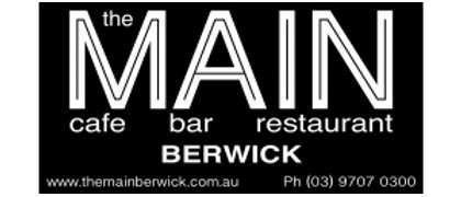 The Main Cafe Berwick