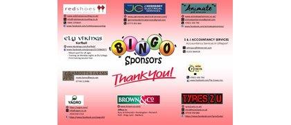 Bingo Night Sponsors
