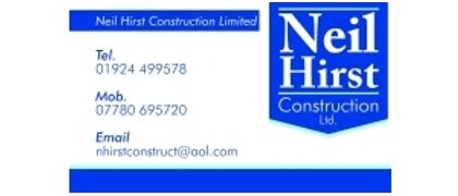 Neil Hirst Construction Ltd.