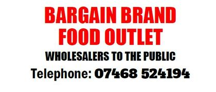 Bargain Brand Food Outlet